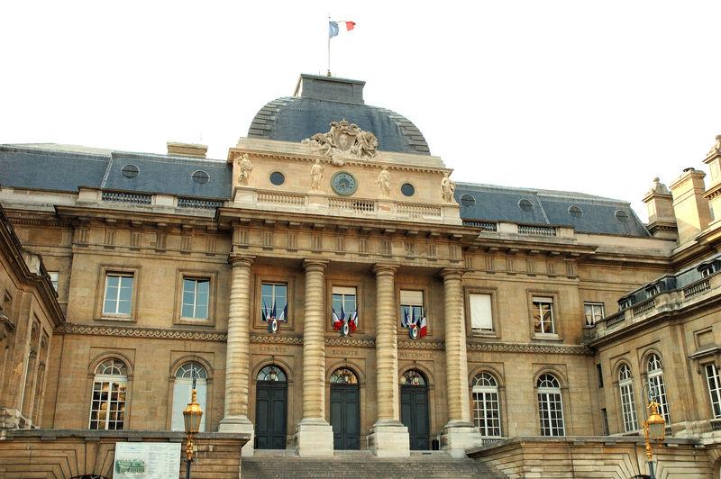 Palais de Justice de Paris - source Wikimedia (licence libre)