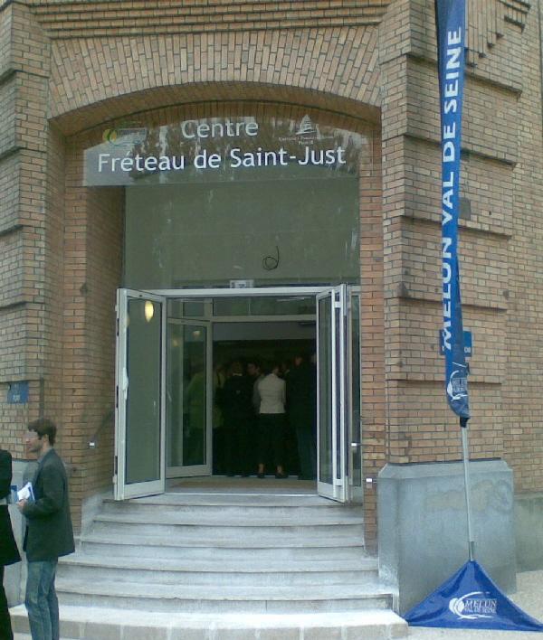 Université Paris 2, le centre Freteau de Saint Just (avec une salle Vidocq)
